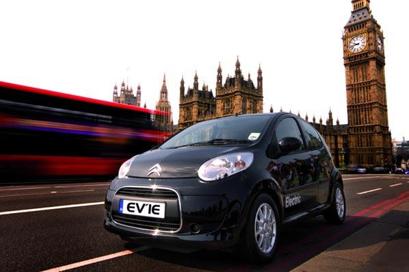Plan Integral sobre el coche eléctrico, en 2010