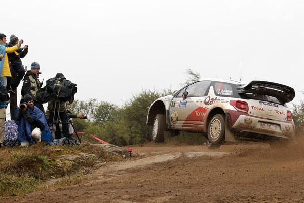 WRC, Rallye de Argentina, segunda etapa