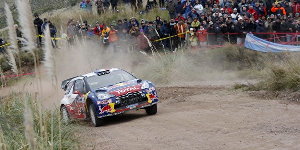 Loeb y Citroën, reyes de Argentina