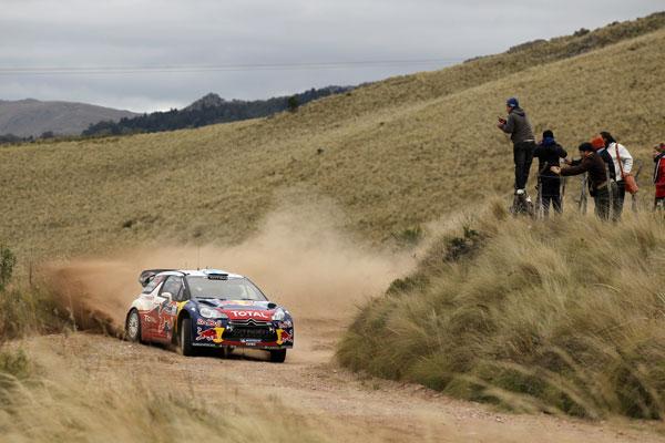 WRC, Rallye de Argentina, tercera etapa, sábado