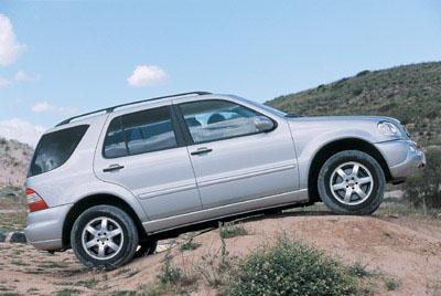 Mercedes prepara tres nuevos todo terreno
