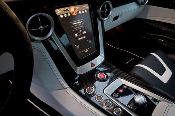 Mercedes SLS AMG-E Cell eléctrico