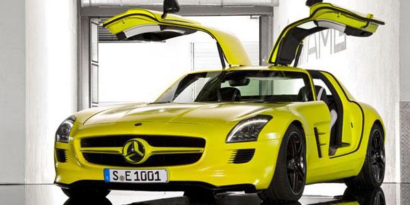 Mercedes SLS AMG-E Cell Prototype