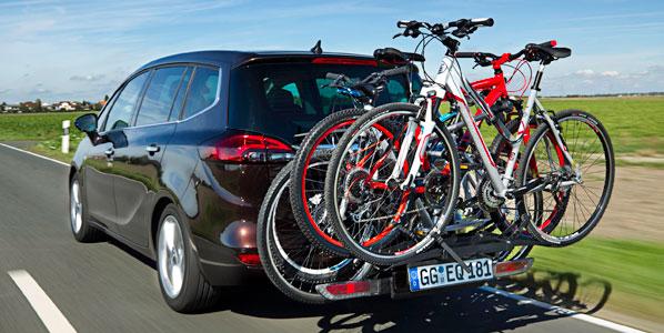 Sistema FlexFix de Opel, la manera más fácil de transportar tu bici