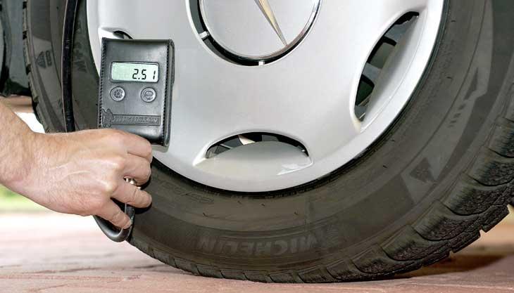 Presiones de inflado Michelin