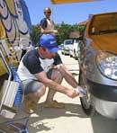 La presión de los neumáticos, asignatura pendiente