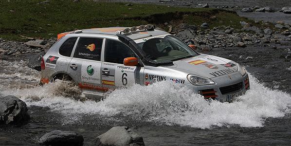 Porsche monopoliza el podio en el Rallye Transsyberia