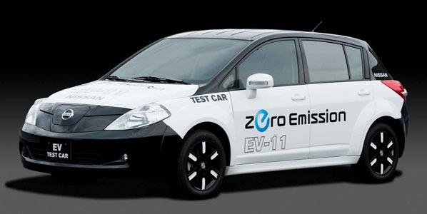 Nissan y su primer coche eléctrico