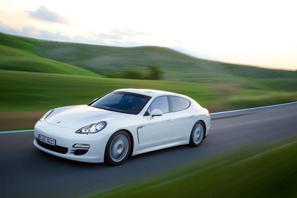 Porsche Panamera Diesel el contacto