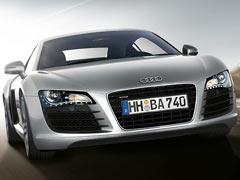 Audi R8 en movimiento