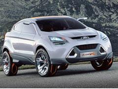Ford: El Iosis X prefigura un crossover