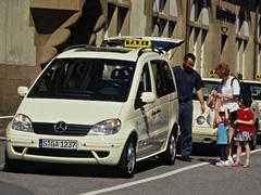 Cambia las normas: pide taxis con sillitas