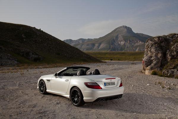 El futuro Mercedes SLK 55 AMG