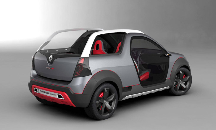 Renault Sand´Up Concept.