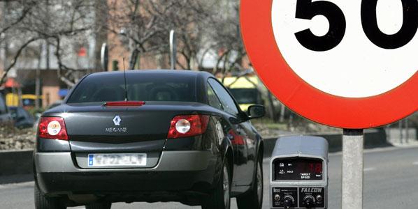 Más de 37.000 denunciados por exceso de velocidad