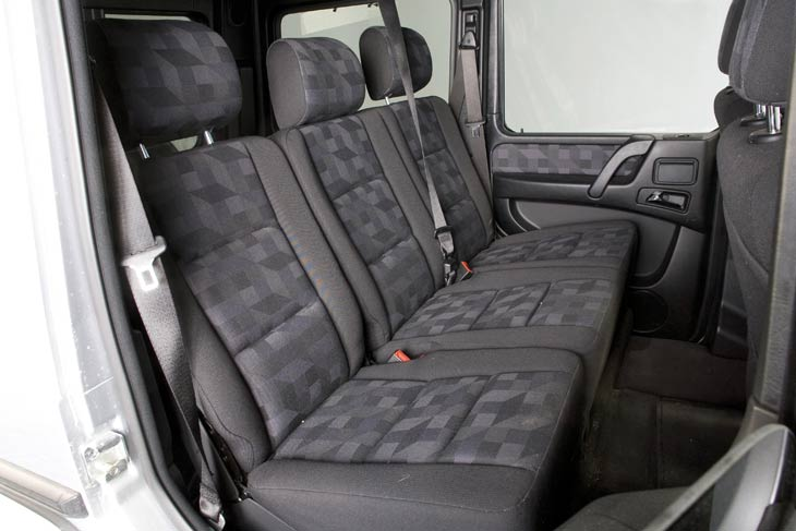 Mercedes G 320 CDI Largo interior