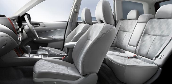 Subaru Forester: tercera generación