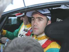 Nicolas Vouilloz, en el IRC 2007