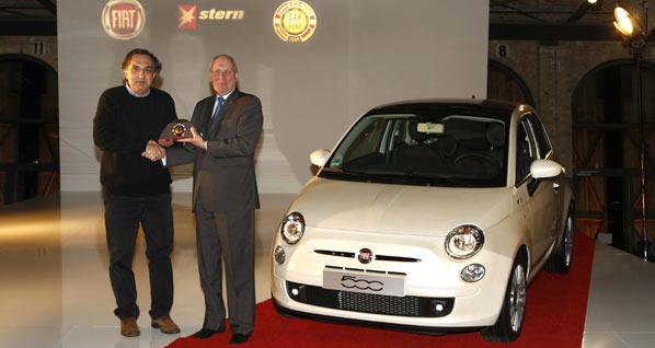 El Fiat 500, coronado Coche del Año
