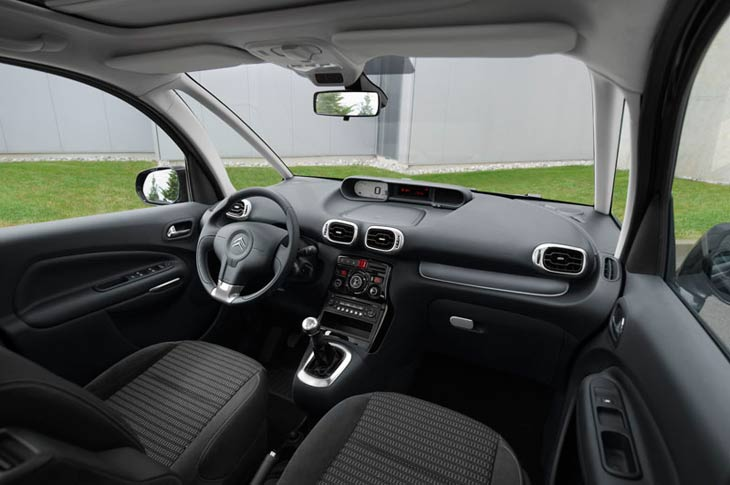 Citroën C3 Picasso 1.6 HDI Airdream Exclusive al detalle