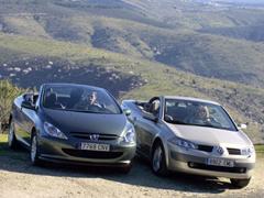 Peugeot 307 CC 2.0 y Renault Mégane CC 2.0