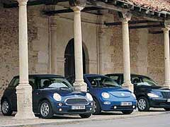 Chrysler PT Cruiser 1.6 / Mini One / Volkswagen New Beetle V5
