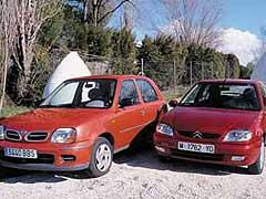 Citroën Saxo 1.4 / Nissan Micra 1.4