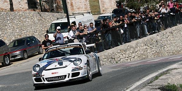 Fuster (Porsche) ganó con autoridad