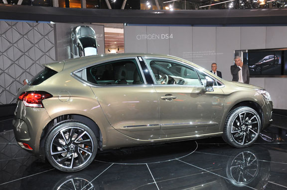 El nuevo Citroën DS4 calienta motores