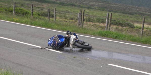 La potencia de las motos no incrementa la siniestralidad