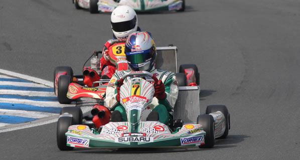 Karting: Sainz Jr sin suerte