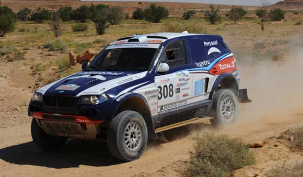 Terranova lidera el Rallye de Túnez