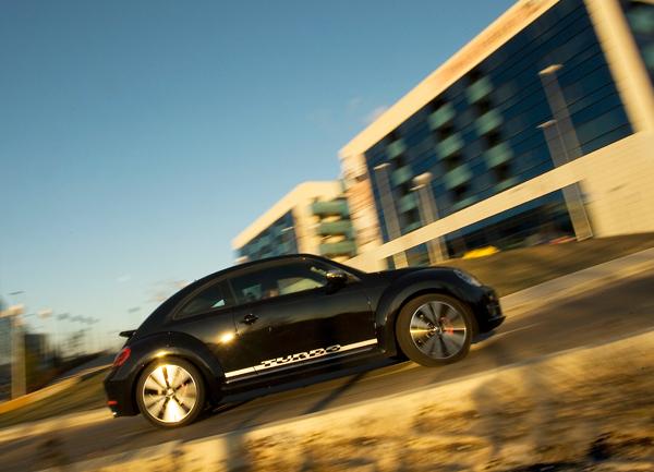 Volkwagen Beetle la prueba