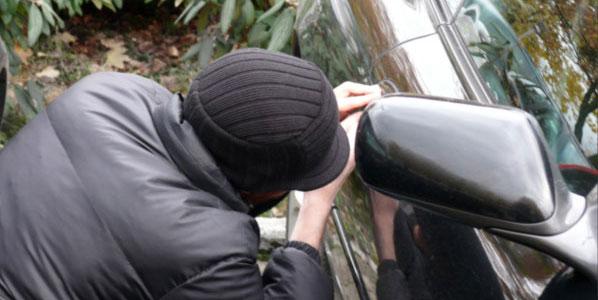 El robo de vehículos baja un 5 por ciento