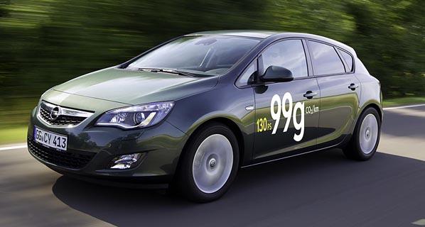 Opel Astra: ahora más eficiente