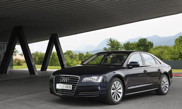 Audi A8 Hybrid el contacto