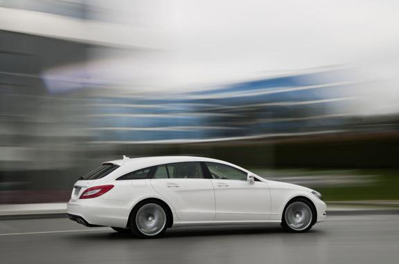 Mercedes CLS Shooting Brake, el coupé familiar