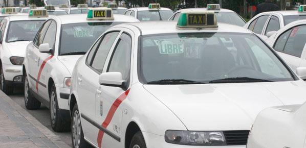 El sector del taxi, en huelga