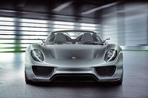 El Porsche 918 Spyder, al detalle