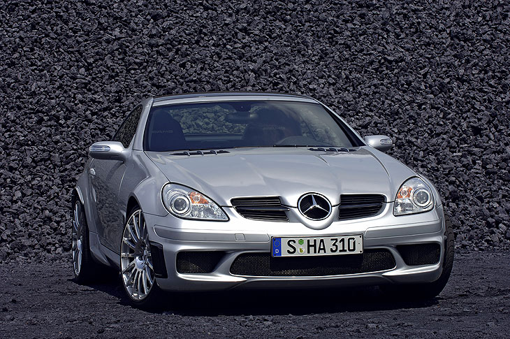 Mercedes SLK 55 AMG Black Series