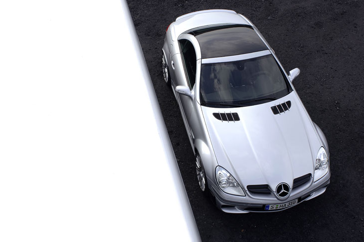 Mercedes SLK 55 AMG Black Series
