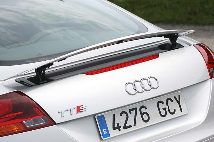 Audi TTS Coupé detalles