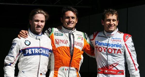 F1: Calificación del GP de Bélgica