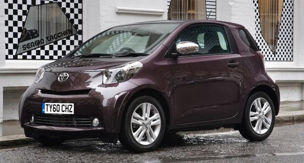 Novedades para el Toyota iQ