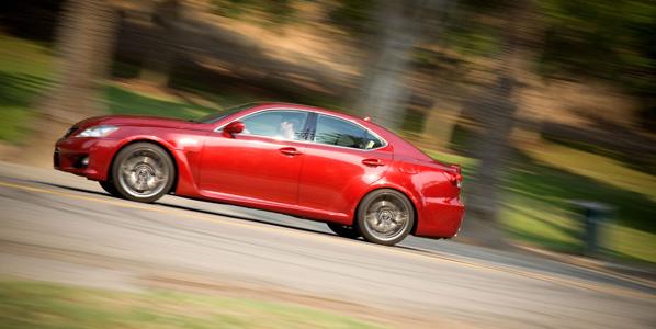 El Lexus IS-F, más dinámico