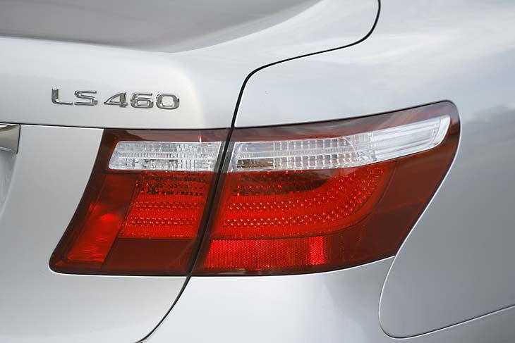 Lexus LS 460: exteriores