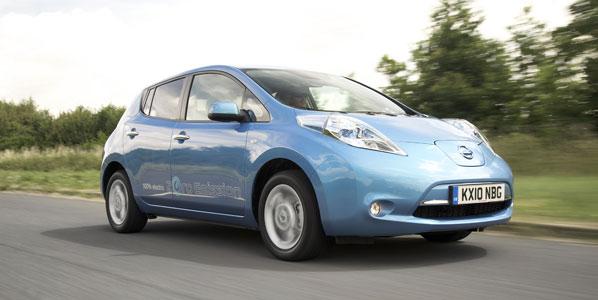 El eléctrico Nissan Leaf, Coche del Año en Japón