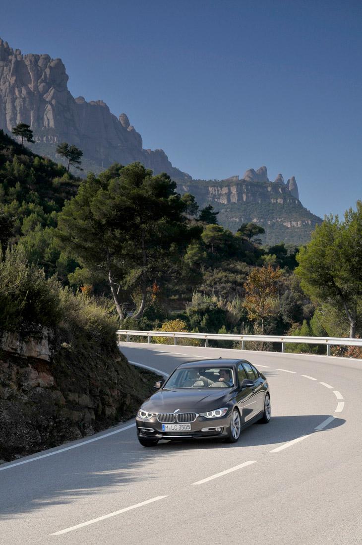 BMW Serie 3 2012, el contacto