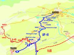 Madrid y Toledo, unidas por una nueva autopista de peaje