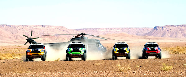 Todo sobre el Rallye Dakar 2012